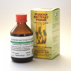 Rhodiola rosea - extract (30ml)