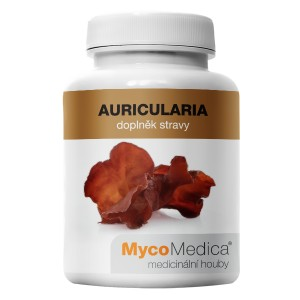 Auricularia - Jelly Ear fungi extract (90 capsules and 500mg)