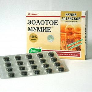 Golden Mumio Altaian pure (20 tbl.)