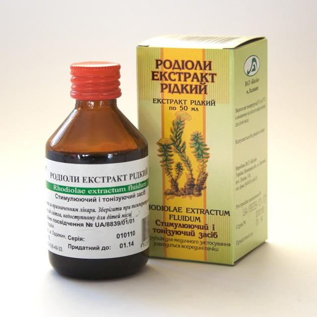 Rozchodnice růžová - extrakt (Rhodiola rosea) 50 ml