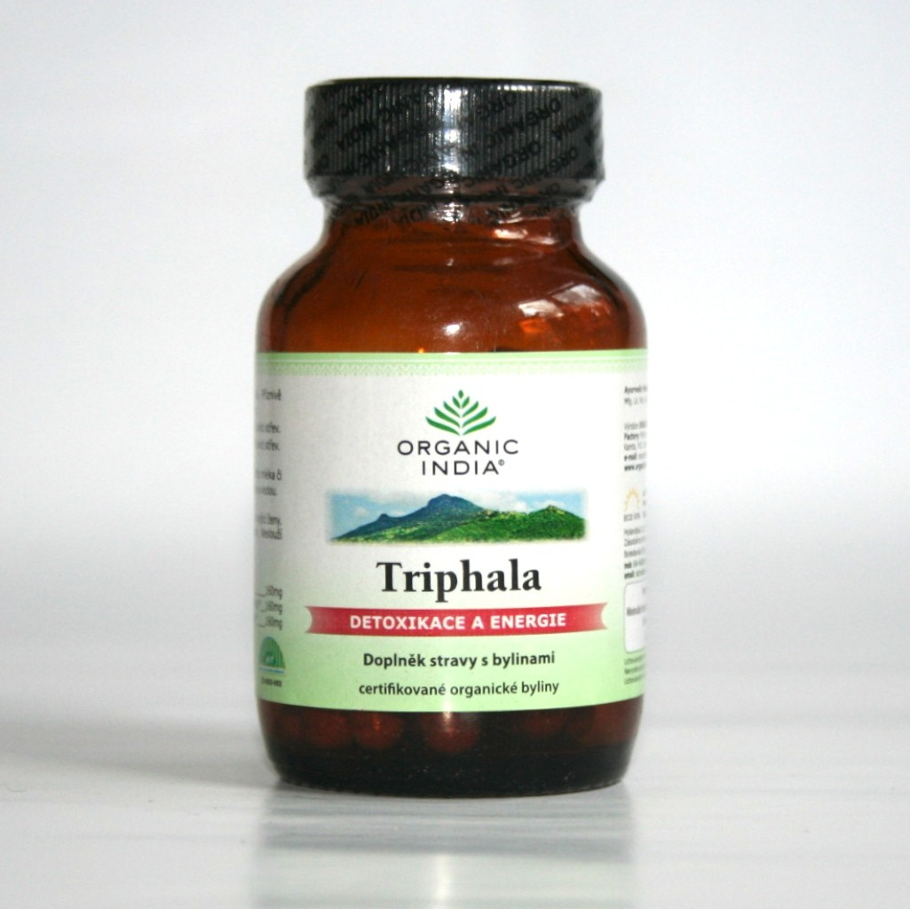 Triphala (60 bylinných kapslí)