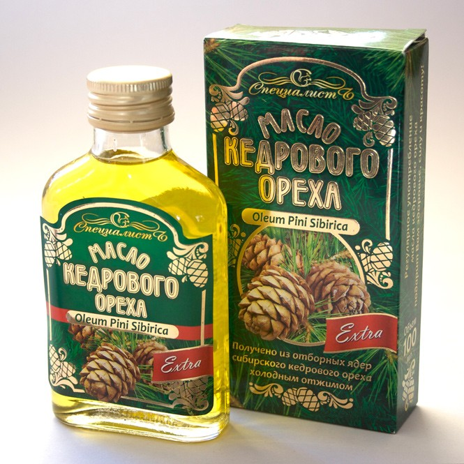 Olej z cedru sibiřského altajský 100% (250 ml)