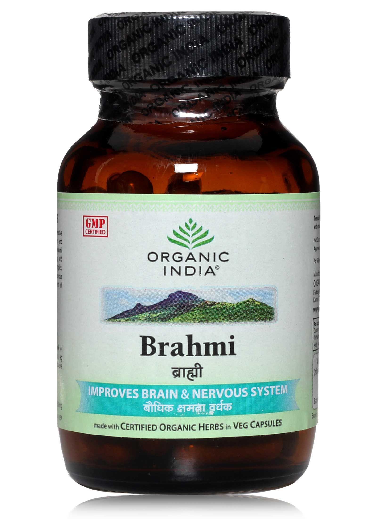 Brahmi (Centella asiatica - 60 bylinných kapslí)
