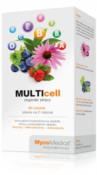 MultiCell (60 tbl) multivitamínový doplněk stravy(ex.08/2016)