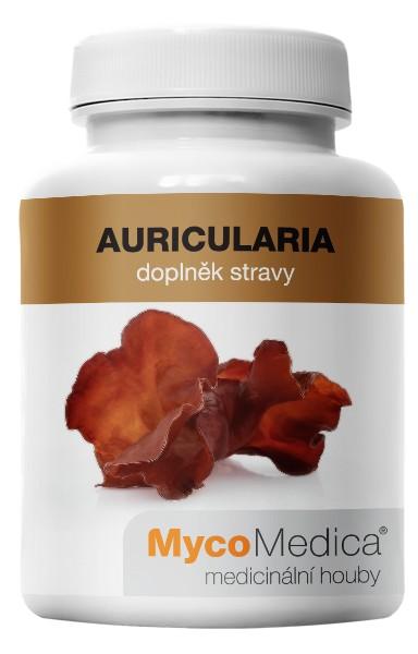 Auricularia – Jidášovo ucho extrakt (90 kapslí á 500mg)