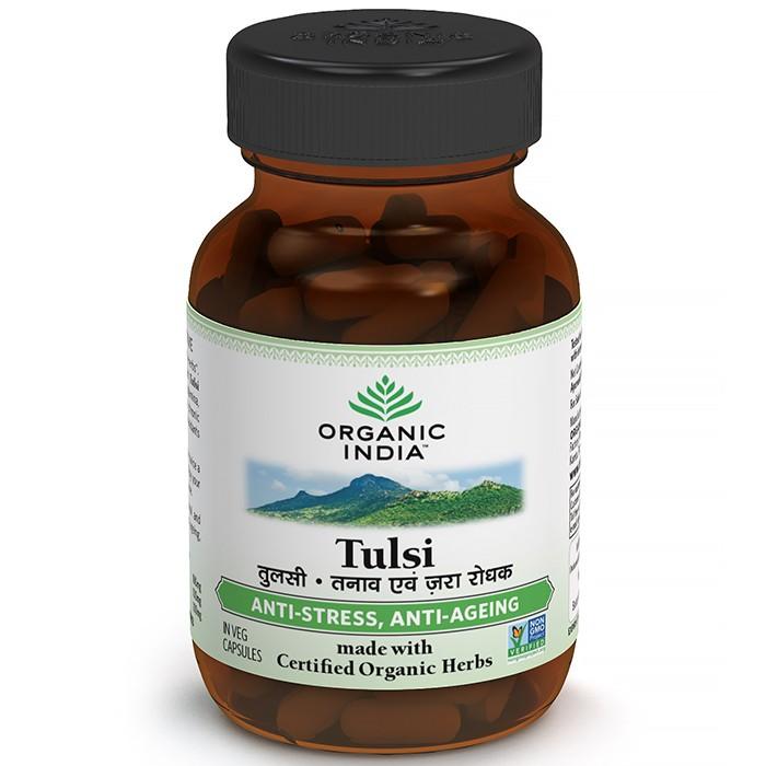 Tulsi (60 bylinných kapslí)