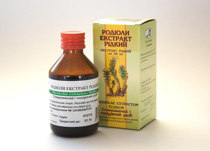 Rozchodnice růžová - extrakt (Rhodiola rosea) 30 ml