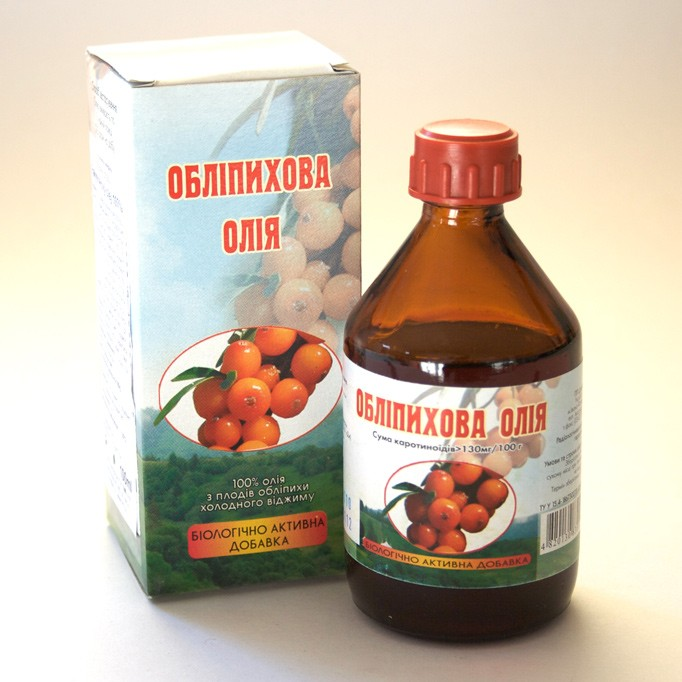 Rakytníkový olej 50ml / za studena lisovaný 100%