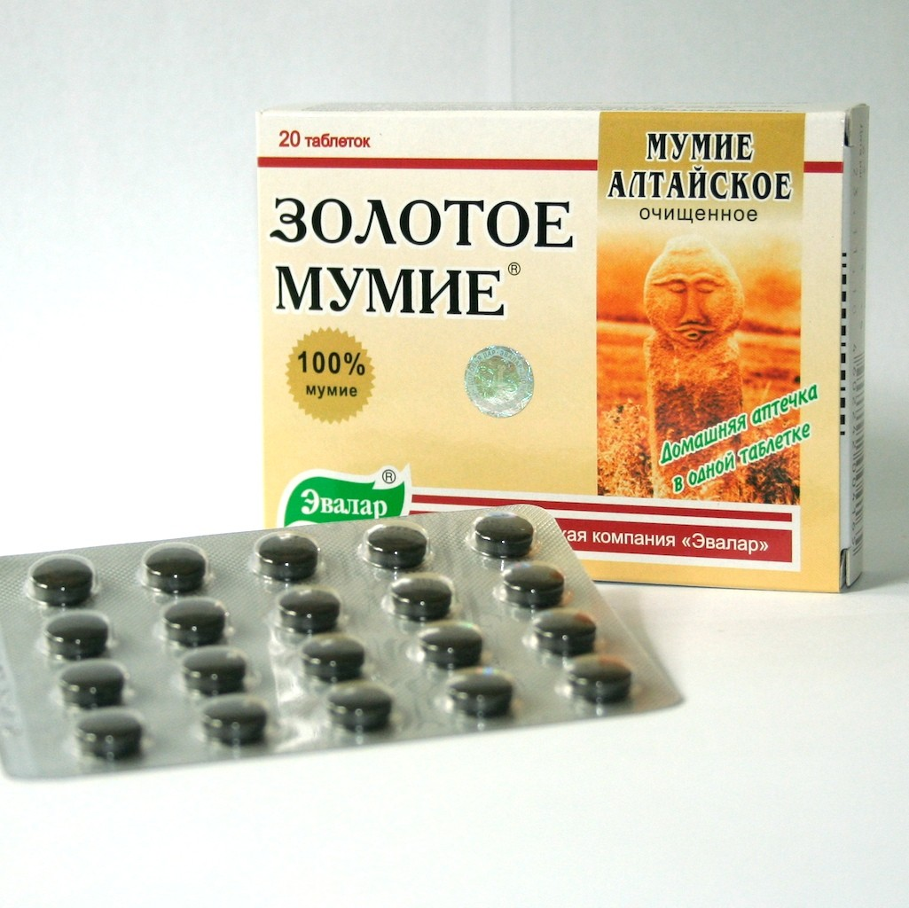 Zlaté mumio altajské čisté (20 tbl.)